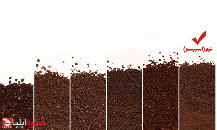 راهنمای درجه آسیاب قهوه