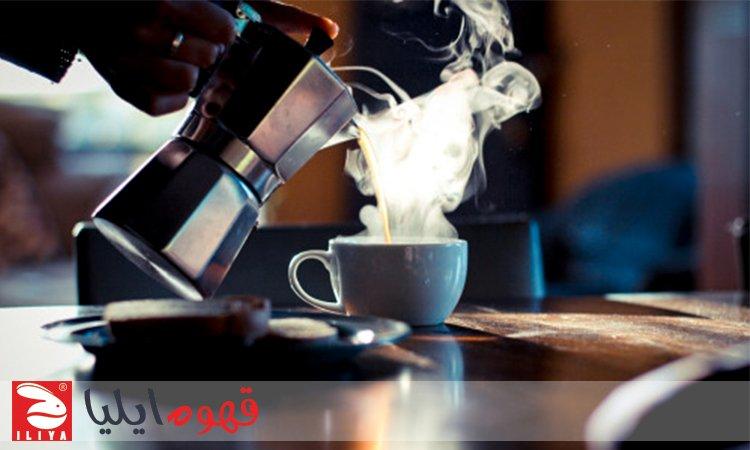 طرز تهیه اسپرسو با قهوه جوش روگازی موکاپات