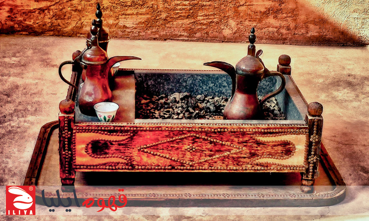 طرز تهیه قهوه عربی با دله