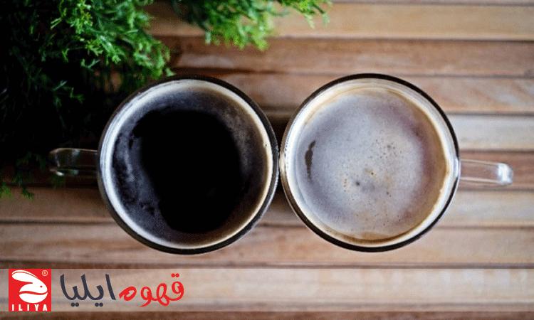 طرز تهیه قهوه آمریکانو لانگ بلک