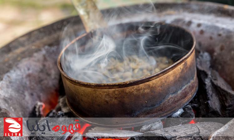 برشته کردن قهوه عربی