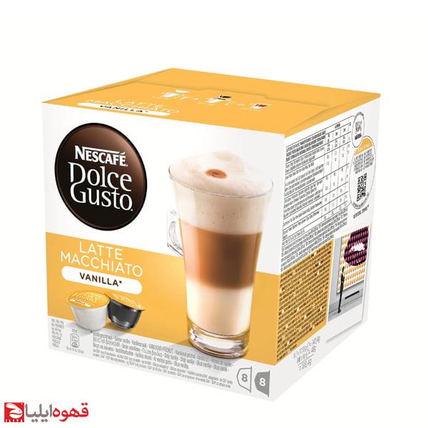 کپسول دولچه گوستو Latte Macchiato Vanilla