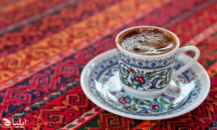 یک فنجان قهوه ترک