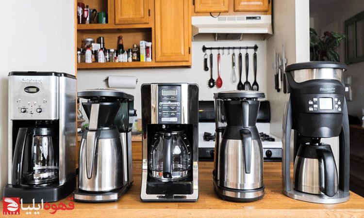 راهنمای خرید اسپرسو ساز برقی و قهوه ساز خانگی