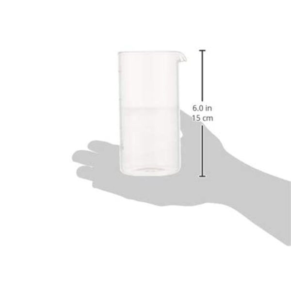 شیشه یدک فرنچ پرس ابعاد