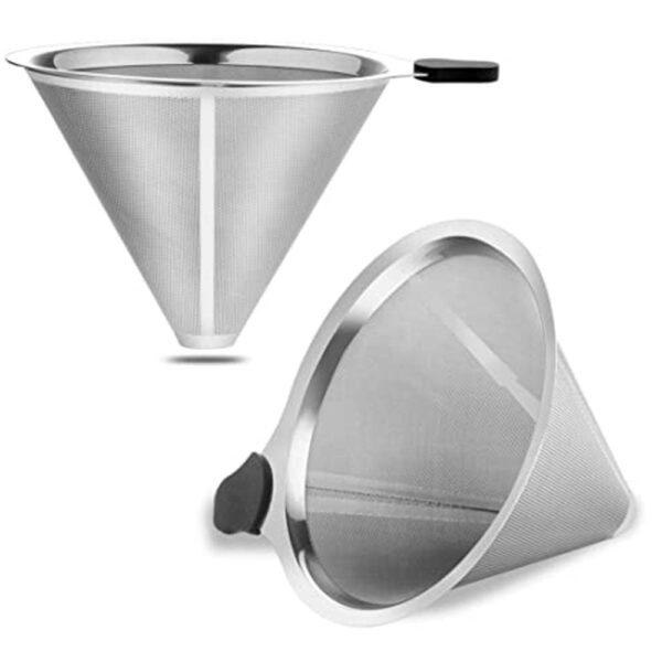 فیلتر قهوه ساز فلزی ثابت