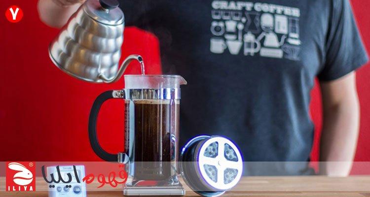 اضافه کردن آب به قهوه