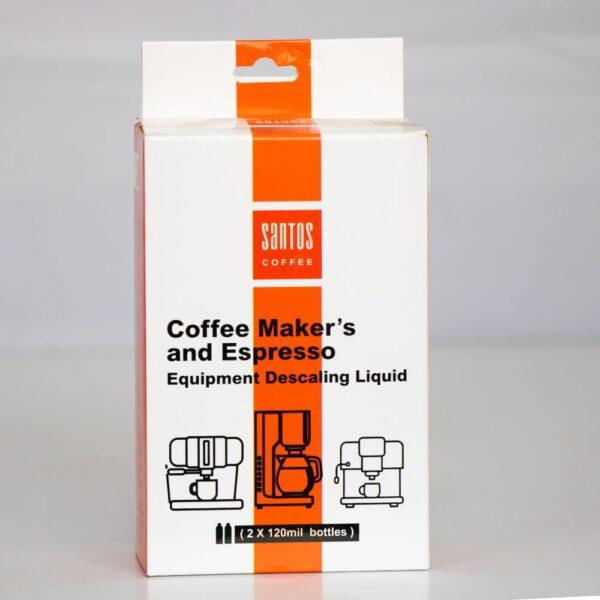 مایع جرمگیر تجهیزات قهوه ساز و اسپرسو ساز سانتوس