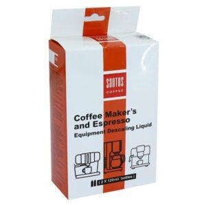 مایع جرمگیر تجهیزات قهوه ساز و اسپرسو ساز خانگی سانتوس