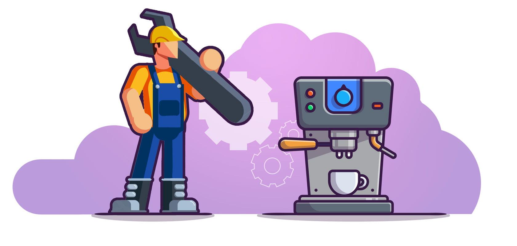 سرویس و تعمیر دستگاه اسپرسوساز خانگی