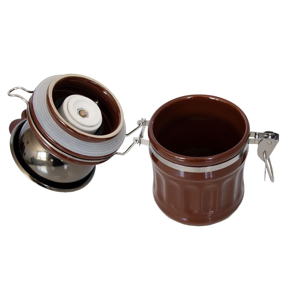 آسیاب دستی قهوه مدل هاریو مخزن سرامیکی