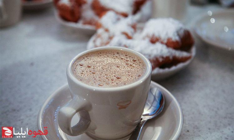 طرز تهیه قهوه کافه آئو لایت ( Café au lait )