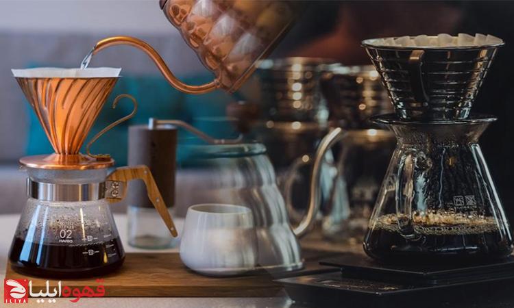 تاریخچه و طرز تهیه قهوه با قهوه ساز هریو V60