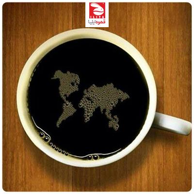 کشور های تولید کننده قهوه قاره آسیا و استرالیا