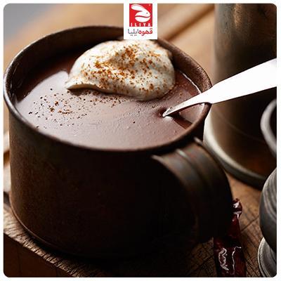 طرز تهیه هات چاکلت فوری با شیر