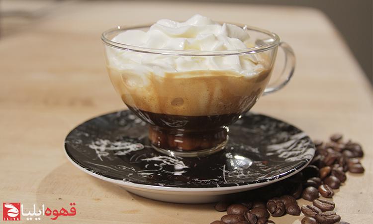 نوشیدنی های تهیه شده با قهوه
