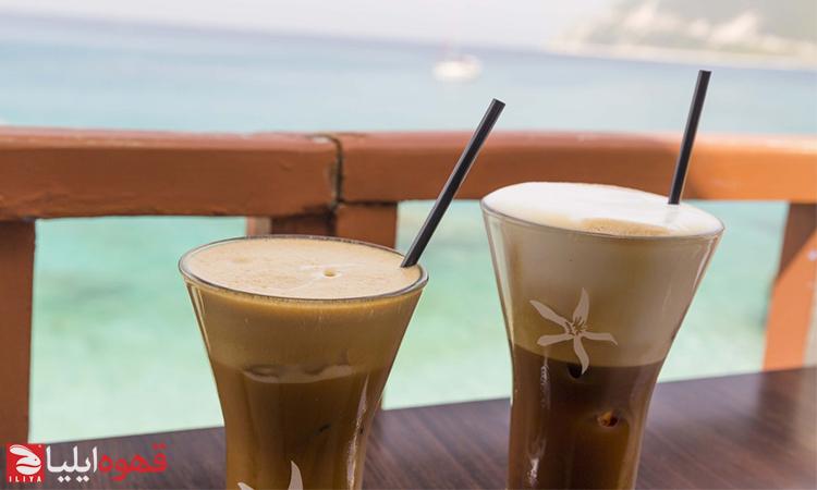 طرز تهیه فراپه قهوه