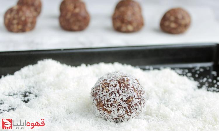 طرز تهیه توپ شکلاتی ( chocolate ball )
