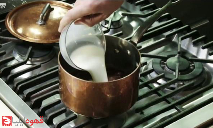 طرز تهیه شکلات قهوه بارباجادا ( Barbajada )